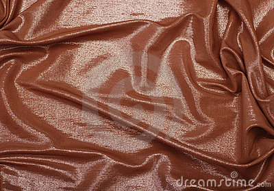 Golden folded textile background