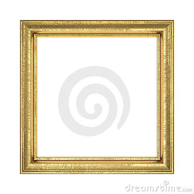 Free Golden Frame Stock Photo - 15798500