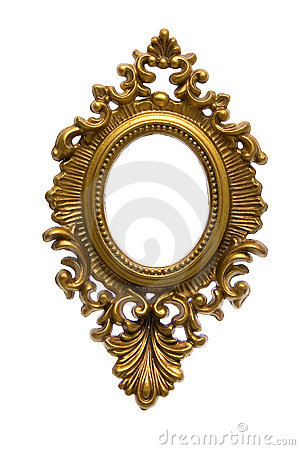 Free Golden Frame Royalty Free Stock Image - 2165766