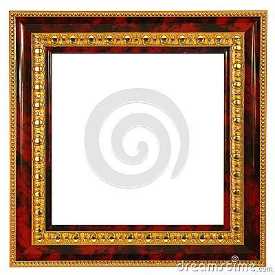 Golden frame