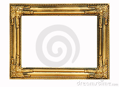Golden frame #4