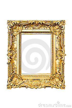 Free Golden Frame Stock Photos - 6548943