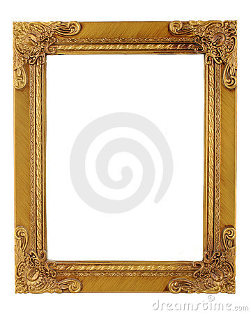 Free Golden Frame Royalty Free Stock Photography - 878647