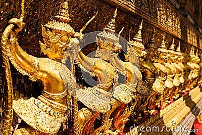 Golden garuda at Royal Palace, Bangkok,T