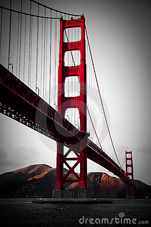 Golden Gate Bridge Editorial Image