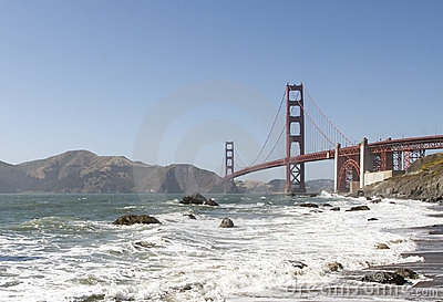 Golden Gate Bridge and Baker Beach
