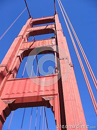 Free Golden Gate Bridge Detail Stock Image - 429411