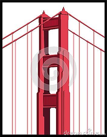 Free Golden Gate Bridge Detail Royalty Free Stock Images - 9265069