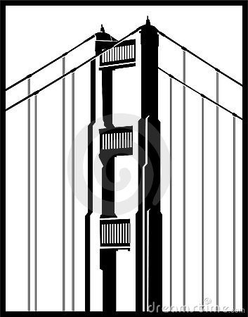 Free Golden Gate Bridge Detail Royalty Free Stock Photos - 9363048