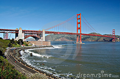 Golden Gate Bridge from Fort P