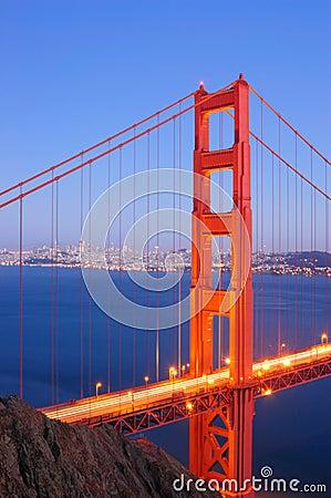 Free Golden Gate Bridge, North Tower Royalty Free Stock Photos - 4473518