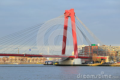 Golden Gate bridge in Rotterdam