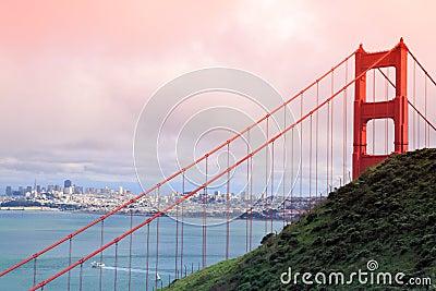 Golden gate bridge.San Francisco