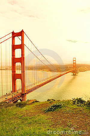Golden gate bridge.San Francisco