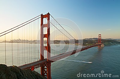 Golden Gate Bridge, San Francisco at Dawn