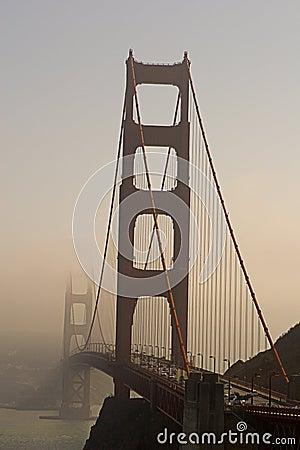 Free Golden Gate In Fog Stock Images - 68824