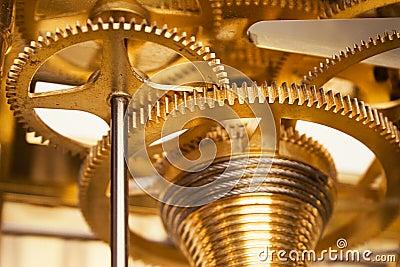 Golden Gearwheels