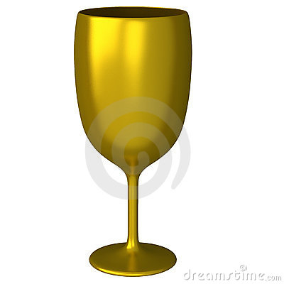 Free Golden Glass 3d Stock Images - 22339264