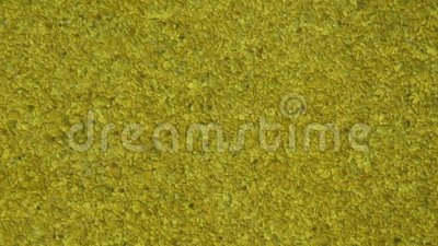 Golden Glass Water Feature - Close-up stock footage