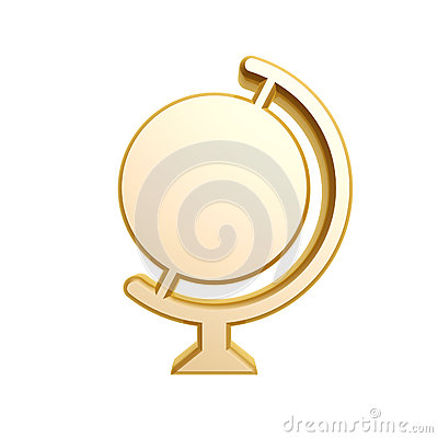 Golden globe symbol