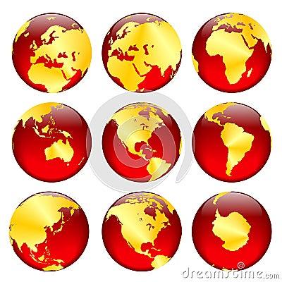 Free Golden Globe Views 2 Stock Photography - 333612