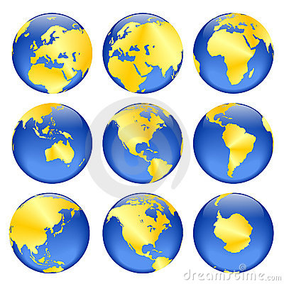 Free Golden Globe Views Stock Photo - 333610