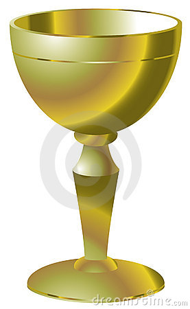 Golden goblet
