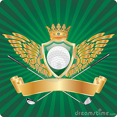 Golden golf award