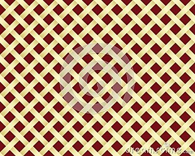 Golden grating pattern