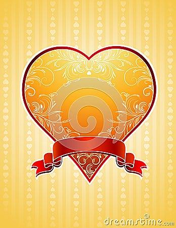 Golden  heart,