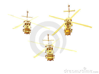 Golden Helicopters