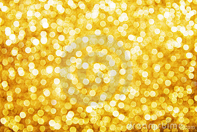 Golden holiday background