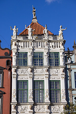 Golden House in Gdansk