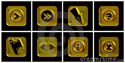 Golden icons
