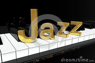 Golden Jazz Sign