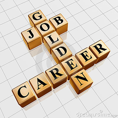 Golden job and career crossword