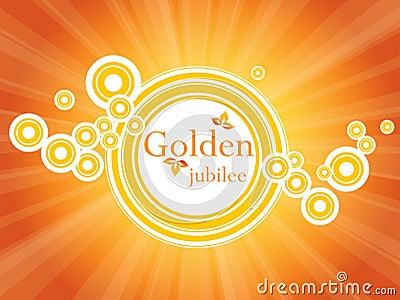 Golden jubilee banner