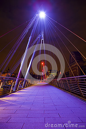 Golden Jubilee Bridge in London