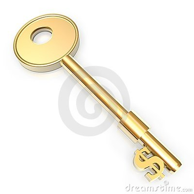Golden key to money