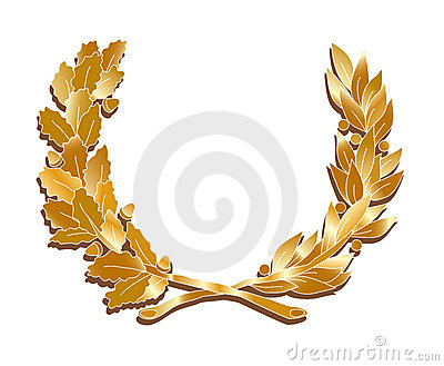 Golden leaves crown