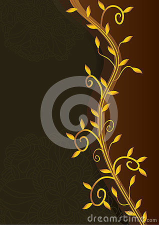 Golden Leaves Royal Card_eps