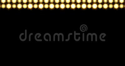 Golden LED Thick Line Lights Background Moving Upwards stock video footage