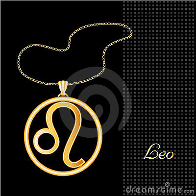 Golden Leo Necklace