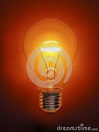 Golden Light Bulb Electric