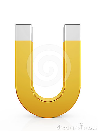Golden magnet