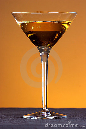 Golden martini