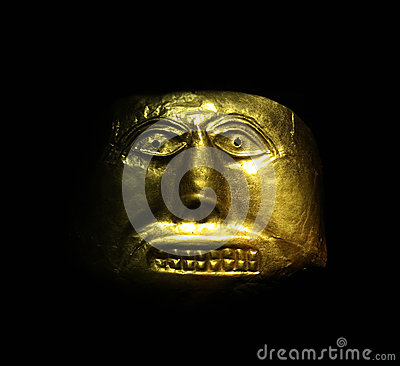 Free Golden Mask Stock Photography - 27847962