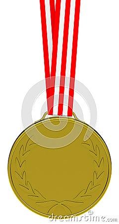 The golden medal