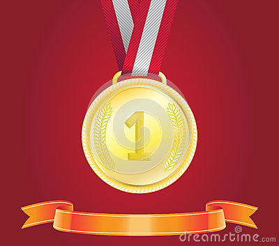 Golden Medal, vector