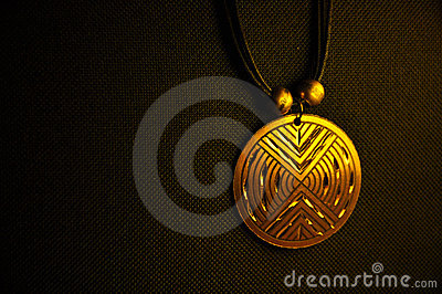 Golden medallion